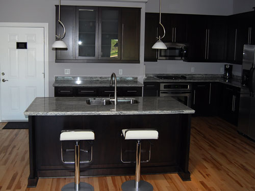 Granite counters throughout.