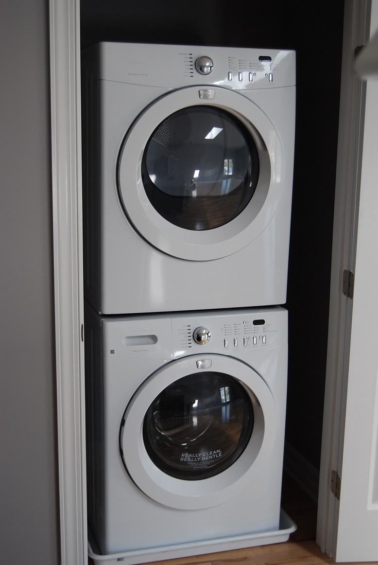 Washer and Dryer in all units